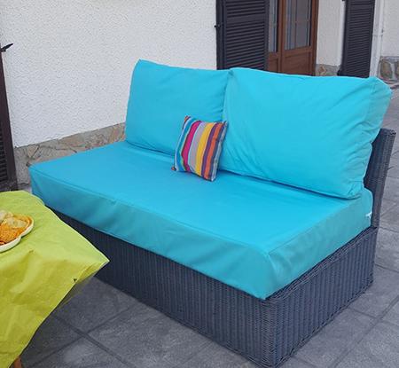 Restauration textile de mobilier extérieur à Orchies